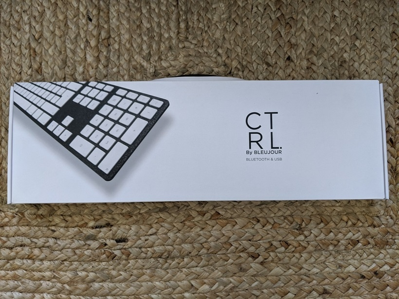 Clavier CTRL by bleujour