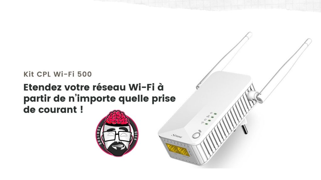 Kit CPL Wi-Fi 500 Strong : Test et avis 1