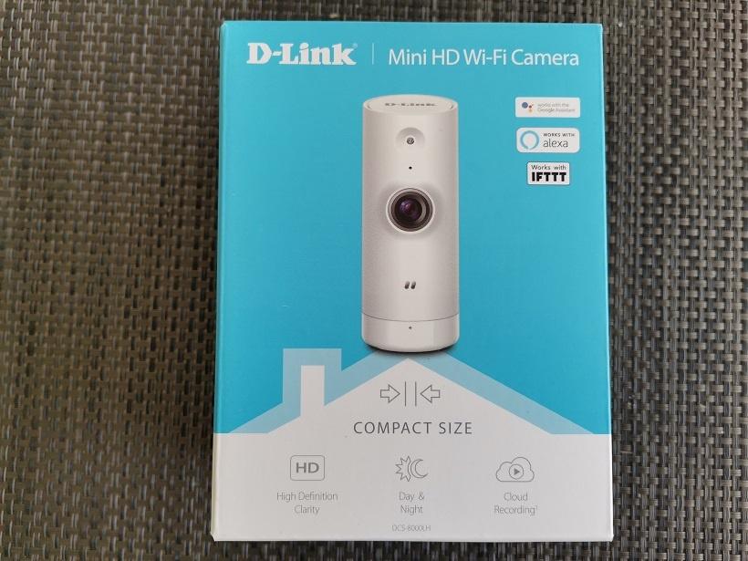 D-Link, mini HD camera test, avis et prise en main [DCS-8000LH] 1