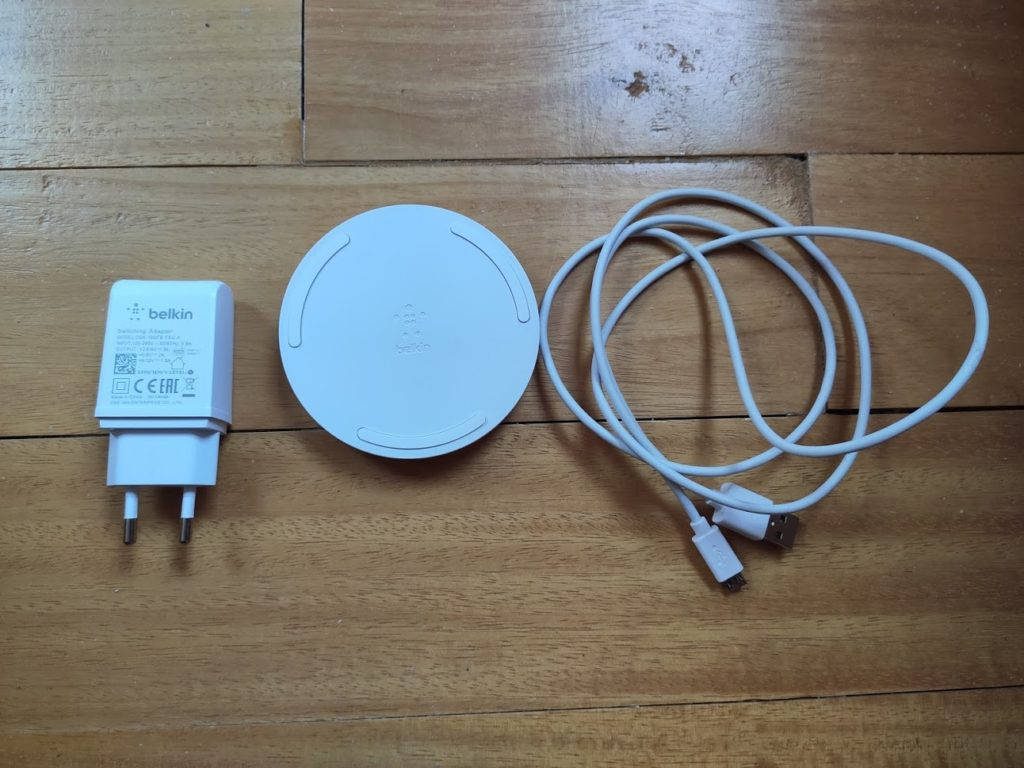 Test du Chargeur QI Belkin BOOST CHARGE (10 W) 1