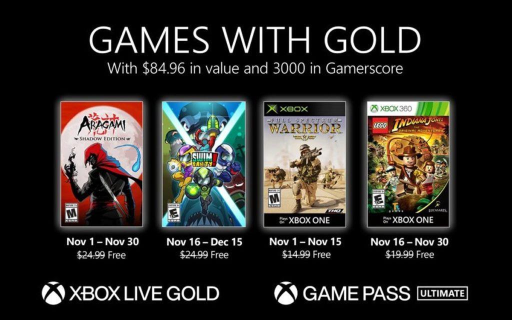 Bon plan : Les jeux gratuits de Novembre 2020 1